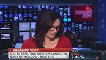 US to sanction Russian banks: Reuters