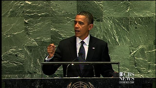 Obama on Middle East at U.N.: