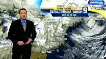 Some snow showers, clouds possible