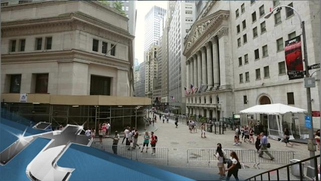 America Breaking News: US Stocks Open Lower, Dragged Down by Tech