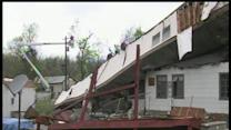 EF1 tornado rips through Spavinaw