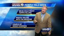 A couple soggy chances coming up this week
