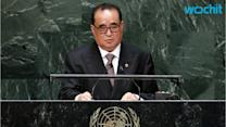 North Korea Has Power to Deter U.S. 'nuclear Threat': Foreign Minister