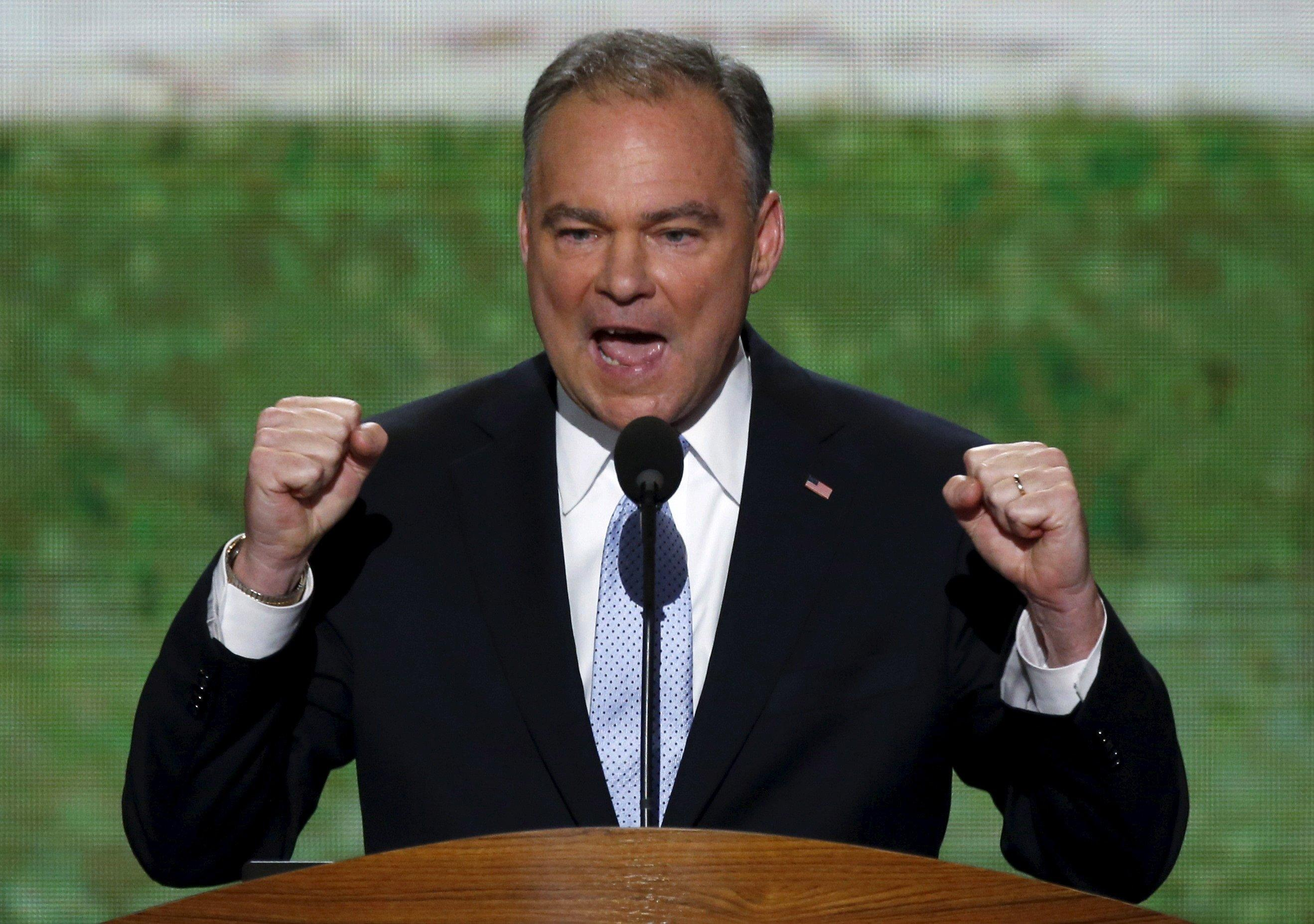 Clinton Makes 'Safe' Choice of Tim Kaine as Her Running Mate