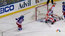 Richards sets up Stepan with great slap pass