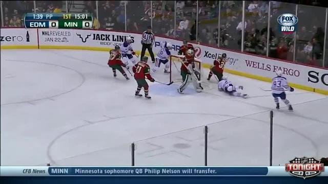 Edmonton Oilers at Minnesota Wild - 01/16/2014