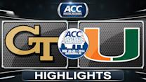 Georgia Tech vs Miami | 2014 ACC Baseball Championship Highlights