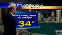 Marty Bass Has Your Tuesday Morning Forecast
