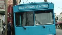San Francisco Bus Provides Shower to Homeless
