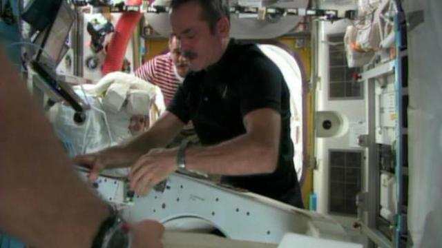 ISS crew fix leak ahead of schedule