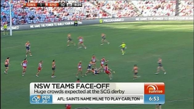 Big AFL Sydney derby
