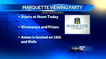 Marquette to hold NCAA viewing party