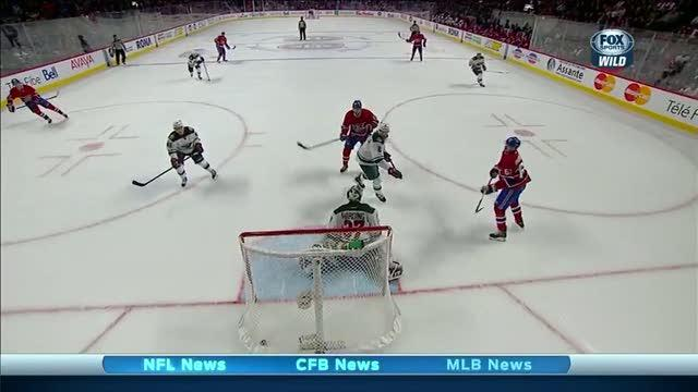 Max Pacioretty gets a natural hat trick