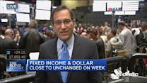 Fixed income & dollar close to unchanged on week