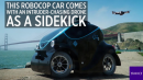 This RoboCop car comes with an intruder-chasing drone as a sidekick