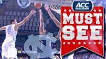 UNC's Marcus Paige Saves Game With Blocked Shot | ACC Must See Moment