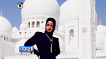 Rihanna Kicked Out of Abu Dhabi Mosque, Doesn't Seem to Care
