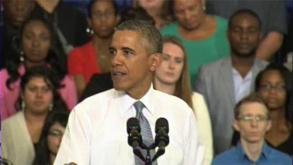Obama mocks GOP for 'crazy' Obamacare predictions
