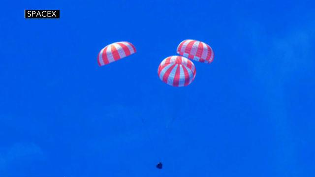 SpaceX Dragon successfully returns from ISS