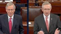Reid vs. McConnell: Senate Leaders Clash