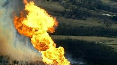 Gas Line Explosion In Lincoln Co.