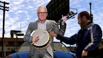 David Letterman - Steve Martin's Grand Theft Banjo