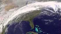 NASA Animation Shows Winter Storm Across Country
