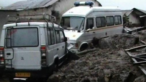 Flash floods and landslides kill 21 in Sikkim