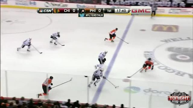 Chicago Blackhawks at Philadelphia Flyers - 03/18/2014