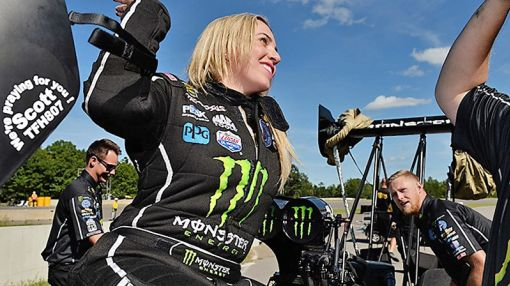 Brittany Force Gets Her Third NHRA Win By Screwing Up Less Than the Other Guy