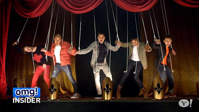 The Wanted Recreates Iconic Dance Moves From Boy Band Predecessors