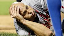 Does Tim Hudson's ankle injury put his career in jeopardy?