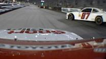 Sadler collected in wreck, night gets worse