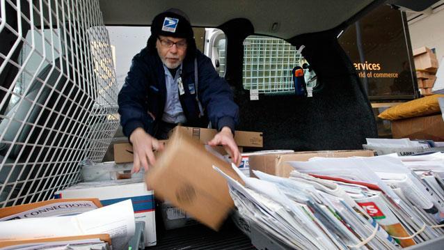 Post Office on Verge of Historic Default
