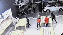 Index: Hooded Thieves Swoop Into Apple Store, Steal Devices From Display Stands