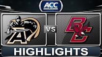 Army vs Boston College | 2013 ACC Football Highlights