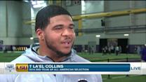 LSU offensive tackle La'el Collins: 'I had a great day' at pro day