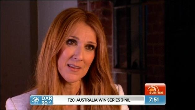Celine Dion opens up about life