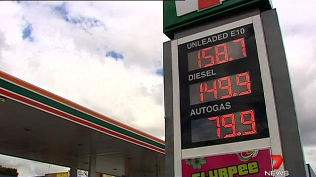 Spike in holiday petrol prices