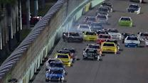 Dillon, Hornish: close calls for title rivals