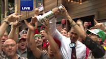 No Cup? No problem, fans celebrate mini-Stanley Cup