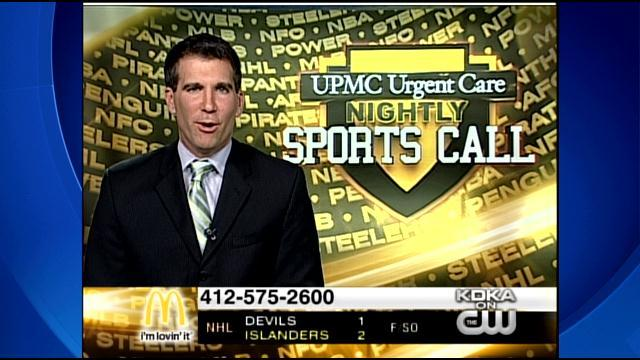 UPMC Urgent Care Nightly Sports Call: Mar. 29, 2014 (Pt. 3)