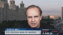 US & Russia war of words