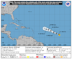 Tropical Storms Wilfred, Alpha and Beta formed Friday. That's a record