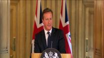 Cameron: UK Raises Terror Threat Level to Severe