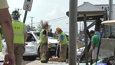 Vehicles Crash On Route 30 In Lancaster County