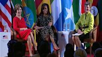 Cokie Roberts on Chat with Michelle Obama and Laura Bush