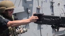 Bullets Fly as US Navy Destroys Abandoned Lifeboat