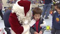 Bringing smiles to King Elementary School this Christmas