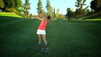 The Sexiest Shots in Golf - Anna Rawson Shows You How to Add Backspin with an Iron